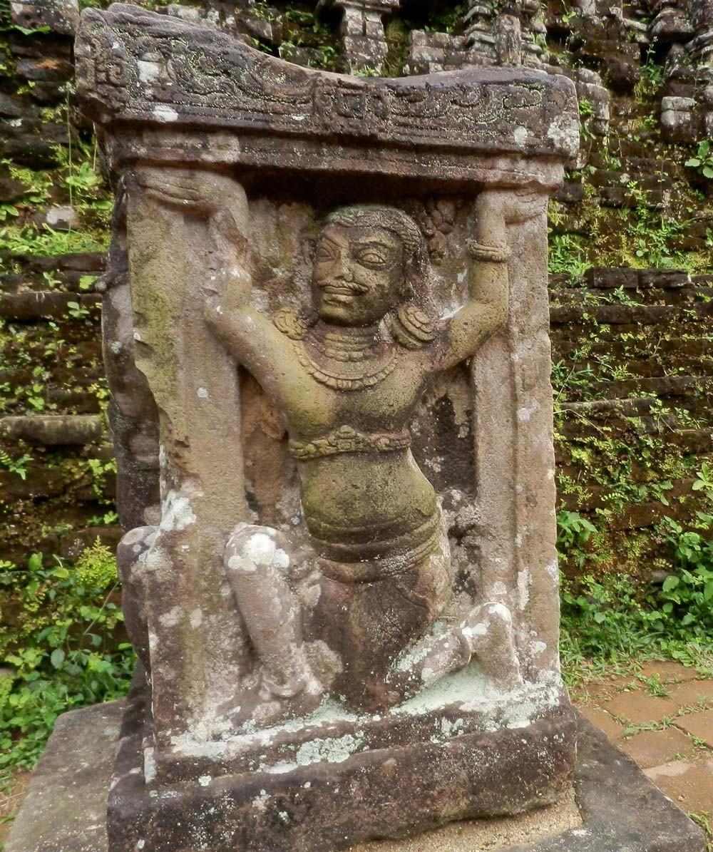 Cham Relief at My Son Sanctuary