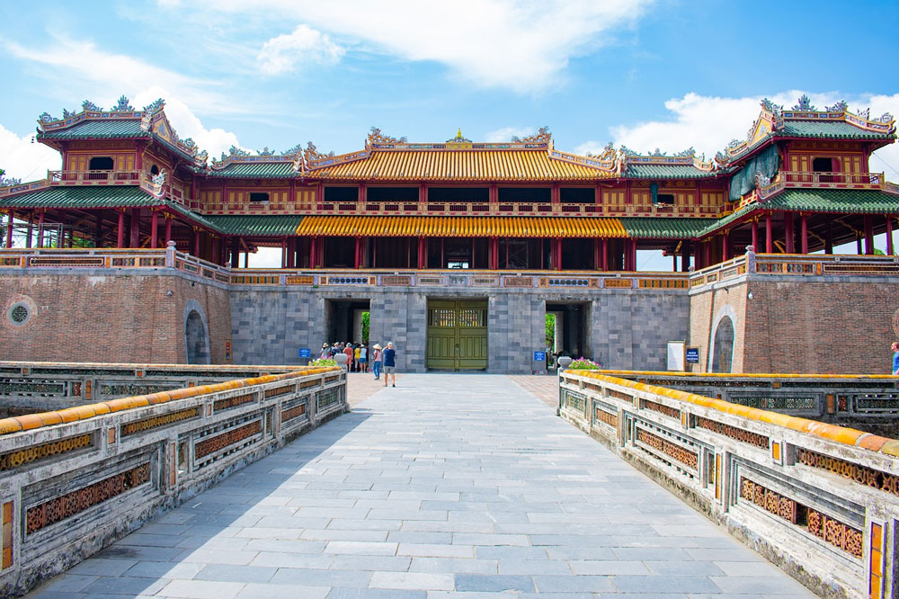 The Meridian Gate and Phoenix Pavilion of Hue Citadel